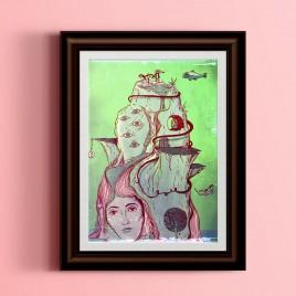"""""""Phantasmagoria"""", Poster, A3"""